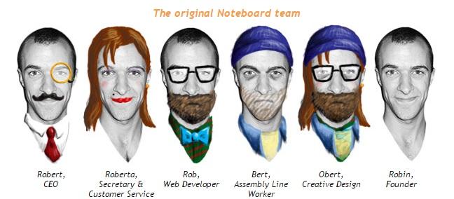 Noteboard team