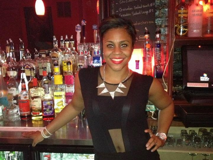 DC bartending grad Shanika