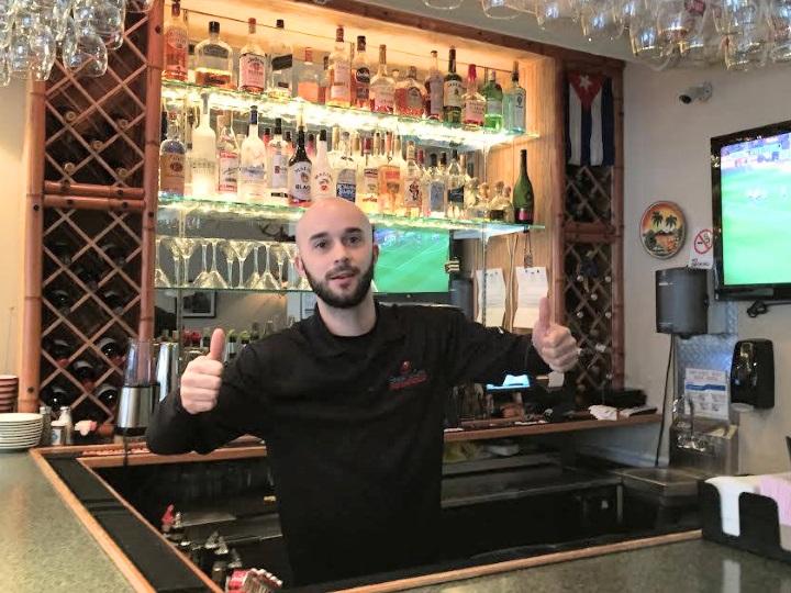 MD bartending grad Sergio