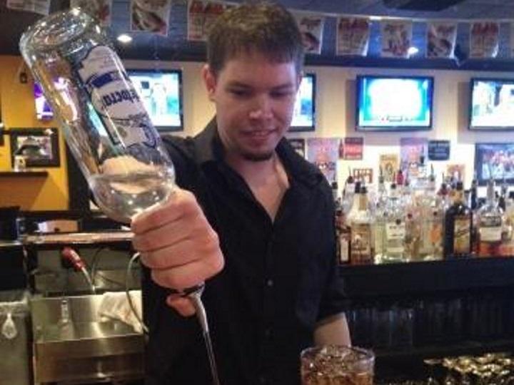 VA bartending grad Mike