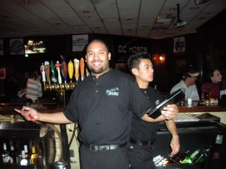 VA bartending grad Russell