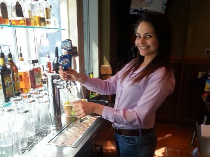 VA bartending grad Holly